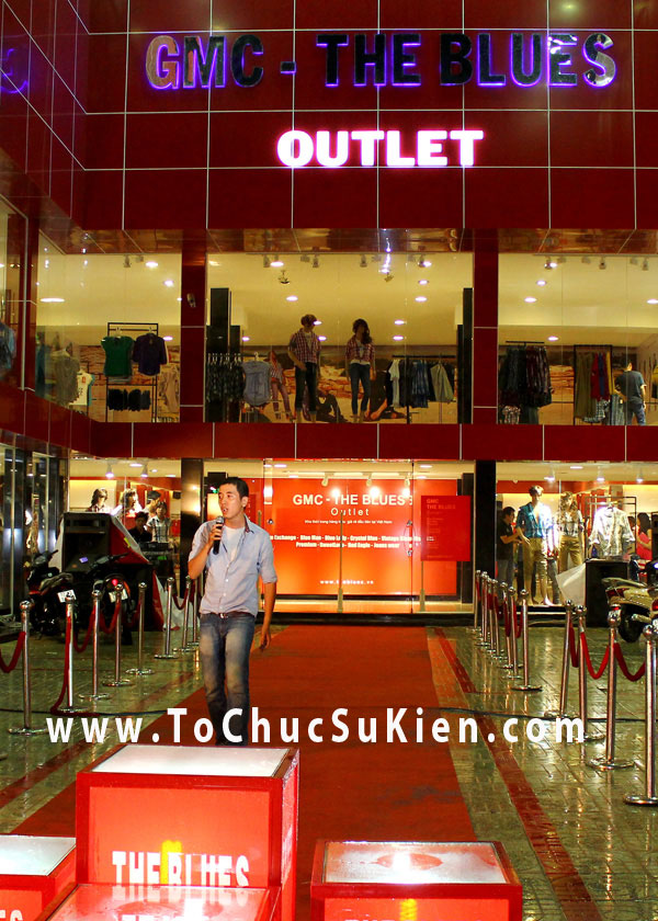 Tổ chức sự kiện Lễ khai trương cửa hàng Outlet của thương hiệu thời trang Blue - 09