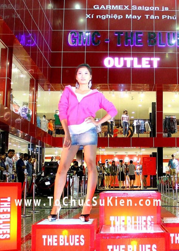 Tổ chức sự kiện Lễ khai trương cửa hàng Outlet của thương hiệu thời trang Blue - 25