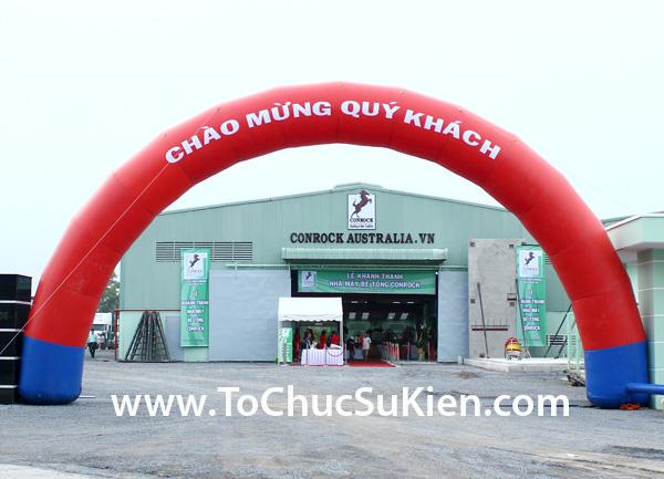 Tổ chức sự kiện Lễ khánh thành nhà máy bê tông Conrock tại KCN Hiệp Phước - Nhà Bè - 02