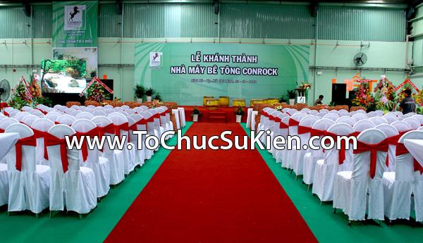 Tổ chức sự kiện Lễ khánh thành nhà máy bê tông Conrock tại KCN Hiệp Phước - Nhà Bè - 04