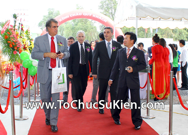 Tổ chức sự kiện Lễ khánh thành nhà máy bê tông Conrock tại KCN Hiệp Phước - Nhà Bè - 09