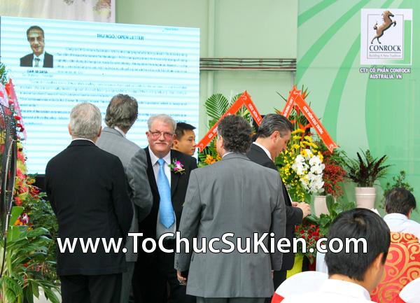 Tổ chức sự kiện Lễ khánh thành nhà máy bê tông Conrock tại KCN Hiệp Phước - Nhà Bè - 16