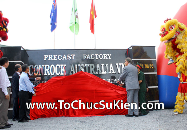 Tổ chức sự kiện Lễ khánh thành nhà máy bê tông Conrock tại KCN Hiệp Phước - Nhà Bè - 39