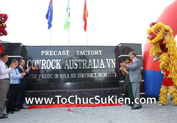 Tổ chức sự kiện Lễ khánh thành nhà máy bê tông Conrock tại KCN Hiệp Phước - Nhà Bè - 40