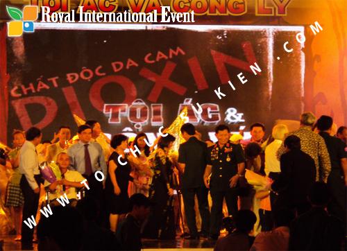 Tổ chức sự kiện Nạn nhân chất độc da cam Dioxin
