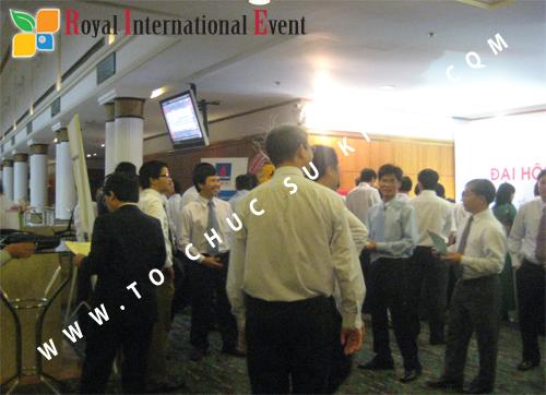Cho thuê, cung cấp thiết bị sự kiện, nhân sự cho sự kiện -  Đại Hội Cổ Đông của Tổng Công Ty Khí Việt Nam 02