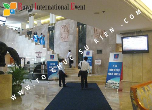 Cho thuê, cung cấp thiết bị sự kiện, nhân sự cho sự kiện -  Đại Hội Cổ Đông của Tổng Công Ty Khí Việt Nam 03