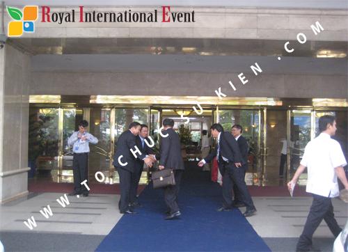 Cho thuê, cung cấp thiết bị sự kiện, nhân sự cho sự kiện -  Đại Hội Cổ Đông của Tổng Công Ty Khí Việt Nam 05