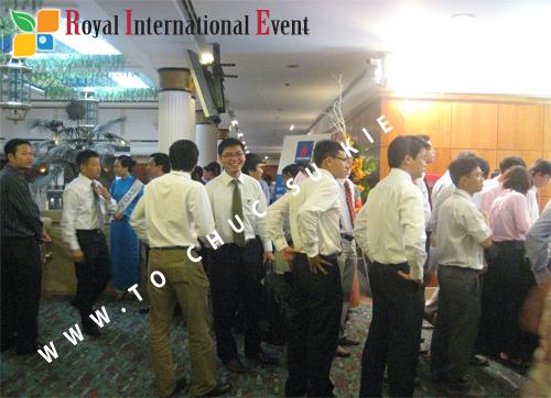 Cho thuê, cung cấp thiết bị sự kiện, nhân sự cho sự kiện -  Đại Hội Cổ Đông của Tổng Công Ty Khí Việt Nam 06