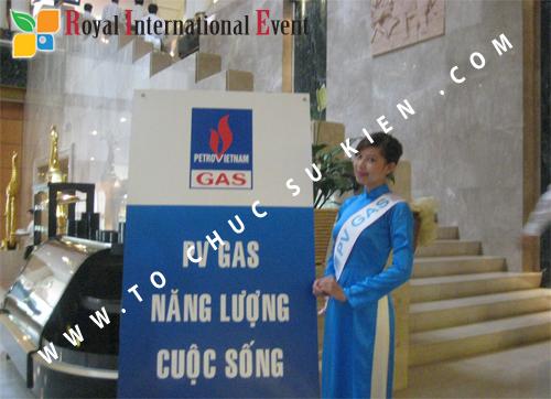Cho thuê, cung cấp thiết bị sự kiện, nhân sự cho sự kiện -  Đại Hội Cổ Đông của Tổng Công Ty Khí Việt Nam 07