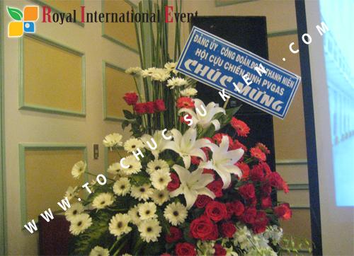 Cho thuê, cung cấp thiết bị sự kiện, nhân sự cho sự kiện -  Đại Hội Cổ Đông của Tổng Công Ty Khí Việt Nam 08