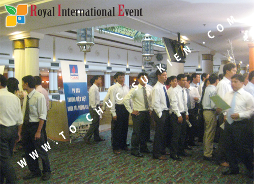 Cho thuê, cung cấp thiết bị sự kiện, nhân sự cho sự kiện -  Đại Hội Cổ Đông của Tổng Công Ty Khí Việt Nam 10