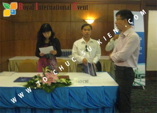 Cho thuê, cung cấp thiết bị sự kiện, nhân sự cho sự kiện -  Đại Hội Cổ Đông của Tổng Công Ty Khí Việt Nam 11