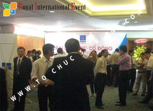 Cho thuê, cung cấp thiết bị sự kiện, nhân sự cho sự kiện -  Đại Hội Cổ Đông của Tổng Công Ty Khí Việt Nam 12