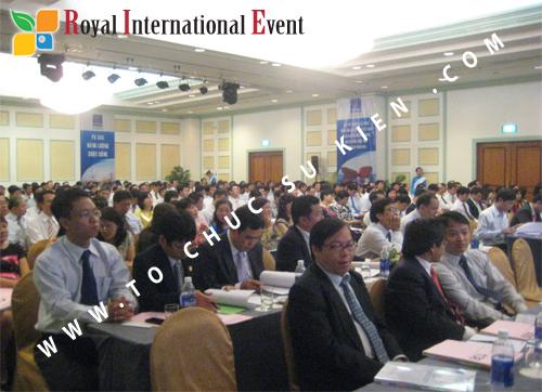 Cho thuê, cung cấp thiết bị sự kiện, nhân sự cho sự kiện -  Đại Hội Cổ Đông của Tổng Công Ty Khí Việt Nam 18