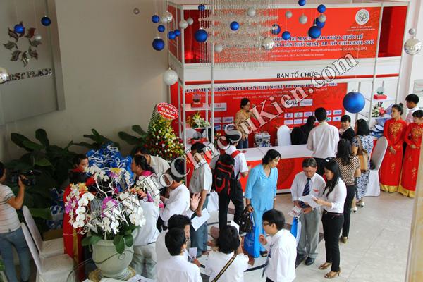 Tổ chức sự kiện: Cung cấp thiết bị, thi công gian hàng cho Hội nghị Khoahọc tim mạch - Lao khoa quốc tế do Bệnh viện Thống Nhất tổ chức tạikhách sạn Đệ Nhất HCM 03