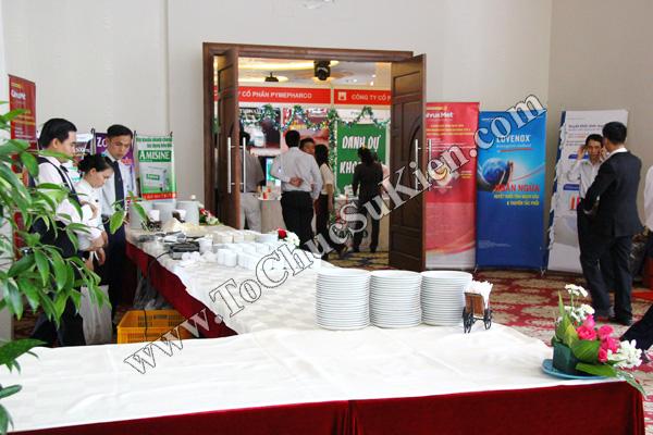 Tổ chức sự kiện: Cung cấp thiết bị, thi công gian hàng cho Hội nghị Khoahọc tim mạch - Lao khoa quốc tế do Bệnh viện Thống Nhất tổ chức tạikhách sạn Đệ Nhất HCM 05