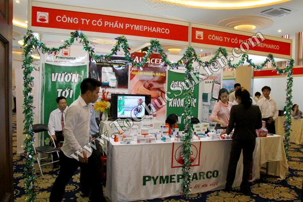 Tổ chức sự kiện: Cung cấp thiết bị, thi công gian hàng cho Hội nghị Khoahọc tim mạch - Lao khoa quốc tế do Bệnh viện Thống Nhất tổ chức tạikhách sạn Đệ Nhất HCM 06