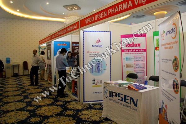 Tổ chức sự kiện: Cung cấp thiết bị, thi công gian hàng cho Hội nghị Khoahọc tim mạch - Lao khoa quốc tế do Bệnh viện Thống Nhất tổ chức tạikhách sạn Đệ Nhất HCM 07