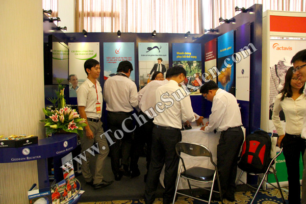 Tổ chức sự kiện: Cung cấp thiết bị, thi công gian hàng cho Hội nghị Khoahọc tim mạch - Lao khoa quốc tế do Bệnh viện Thống Nhất tổ chức tạikhách sạn Đệ Nhất HCM 10