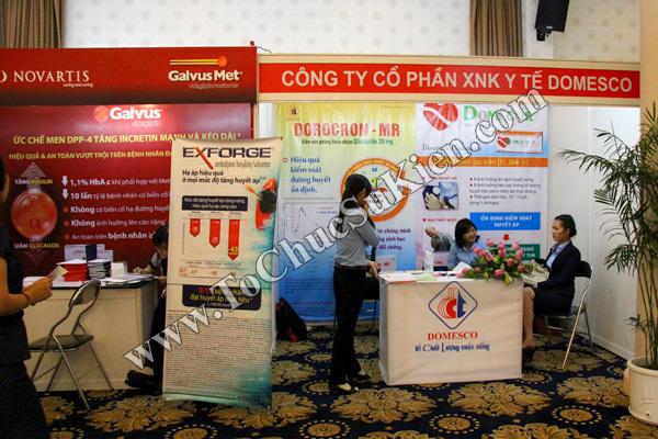 Tổ chức sự kiện: Cung cấp thiết bị, thi công gian hàng cho Hội nghị Khoahọc tim mạch - Lao khoa quốc tế do Bệnh viện Thống Nhất tổ chức tạikhách sạn Đệ Nhất HCM 14