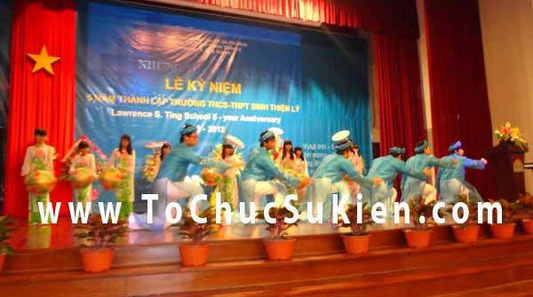 Tổ chức sự kiện Lễ kỷ niệm 5 năm ngày thành lập trường THCS - THPT Đinh Thiện Lý - 02