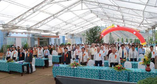 Sự kiện Lễ đón nhận huân chương lao  động và kỷ niệm 15 năm vận hành Nhà máy thủy điện Thác Mơ - Tỉnh Bình  Phước 12
