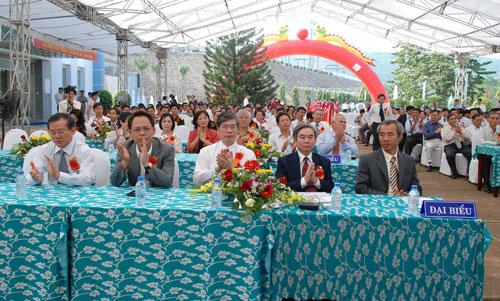 Sự kiện Lễ đón nhận huân chương lao  động và kỷ niệm 15 năm vận hành Nhà máy thủy điện Thác Mơ - Tỉnh Bình  Phước 13