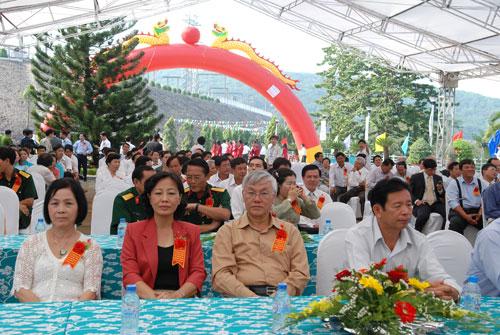 Sự kiện Lễ đón nhận huân chương lao  động và kỷ niệm 15 năm vận hành Nhà máy thủy điện Thác Mơ - Tỉnh Bình  Phước 16