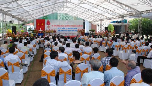 Sự kiện Lễ đón nhận huân chương lao  động và kỷ niệm 15 năm vận hành Nhà máy thủy điện Thác Mơ - Tỉnh Bình  Phước 19