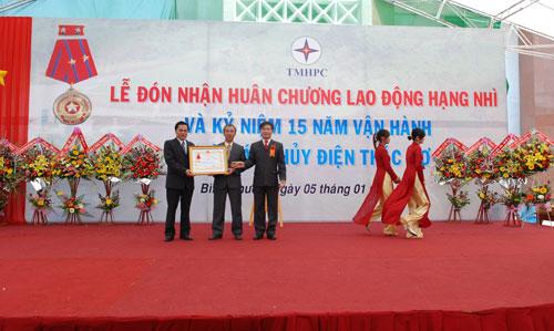 Sự kiện Lễ đón nhận huân chương lao  động và kỷ niệm 15 năm vận hành Nhà máy thủy điện Thác Mơ - Tỉnh Bình  Phước 22