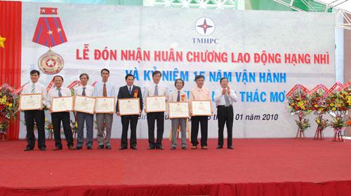 Sự kiện Lễ đón nhận huân chương lao  động và kỷ niệm 15 năm vận hành Nhà máy thủy điện Thác Mơ - Tỉnh Bình  Phước 23