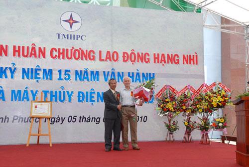 Sự kiện Lễ đón nhận huân chương lao  động và kỷ niệm 15 năm vận hành Nhà máy thủy điện Thác Mơ - Tỉnh Bình  Phước 24