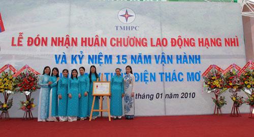 Sự kiện Lễ đón nhận huân chương lao  động và kỷ niệm 15 năm vận hành Nhà máy thủy điện Thác Mơ - Tỉnh Bình  Phước 25