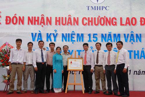Sự kiện Lễ đón nhận huân chương lao  động và kỷ niệm 15 năm vận hành Nhà máy thủy điện Thác Mơ - Tỉnh Bình  Phước 26