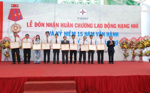Sự kiện Lễ đón nhận huân chương lao  động và kỷ niệm 15 năm vận hành Nhà máy thủy điện Thác Mơ - Tỉnh Bình  Phước 27