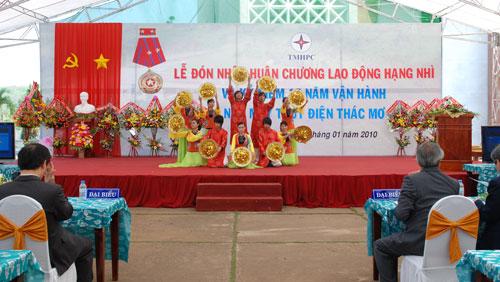Sự kiện Lễ đón nhận huân chương lao  động và kỷ niệm 15 năm vận hành Nhà máy thủy điện Thác Mơ - Tỉnh Bình  Phước 29