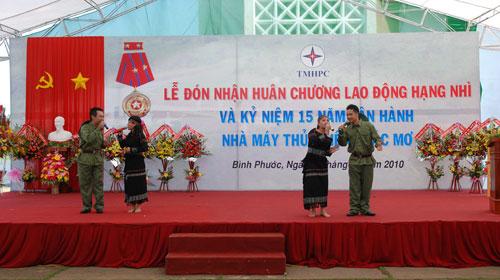 Sự kiện Lễ đón nhận huân chương lao  động và kỷ niệm 15 năm vận hành Nhà máy thủy điện Thác Mơ - Tỉnh Bình  Phước 33