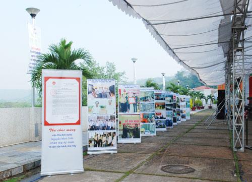 Sự kiện Lễ đón nhận huân chương lao  động và kỷ niệm 15 năm vận hành Nhà máy thủy điện Thác Mơ - Tỉnh Bình  Phước 8