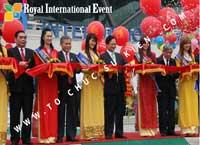 Cung cấp, cho thuê  thiết bị tổ chức sự kiện Lễ Khánh thành Sân bay Quốc tế Cần Thơ