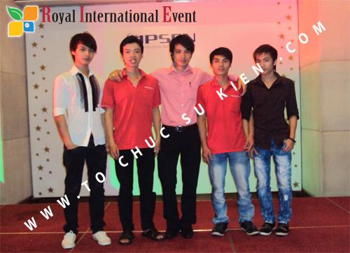 Tổ chức sự kiện Lễ Sales Top Performer Award 2010 của công ty Dược Phẩm IPSEN PHARMA 2