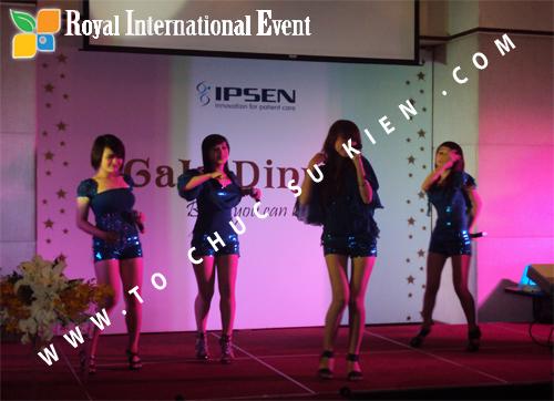 Tổ chức sự kiện Lễ Sales Top Performer Award 2010 của công ty Dược Phẩm IPSEN PHARMA 3