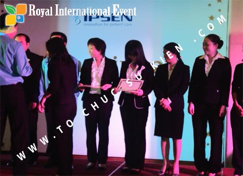 Tổ chức sự kiện Lễ Sales Top Performer Award 2010 của công ty Dược Phẩm IPSEN PHARMA 11