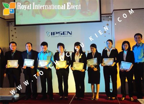 Tổ chức sự kiện Lễ Sales Top Performer Award 2010 của công ty Dược Phẩm IPSEN PHARMA 12