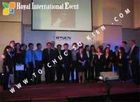 Tổ chức sự kiện Lễ Sales Top Performer Award 2010 của công ty Dược Phẩm IPSEN PHARMA