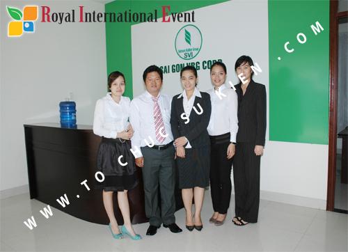 Tổ chức sự kiện Lễ Khởi Công Khu Công Nghiệp Đông Nam 3