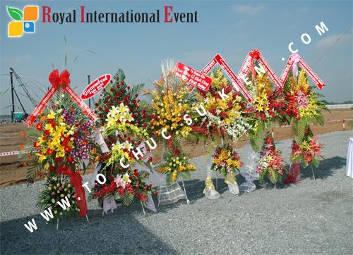 Tổ chức sự kiện Lễ Khởi Công Khu Công Nghiệp Đông Nam 6
