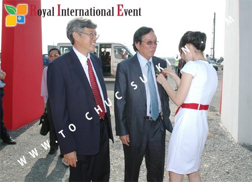 Tổ chức sự kiện Lễ Khởi Công Khu Công Nghiệp Đông Nam 10