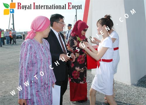 Tổ chức sự kiện Lễ Khởi Công Khu Công Nghiệp Đông Nam 14