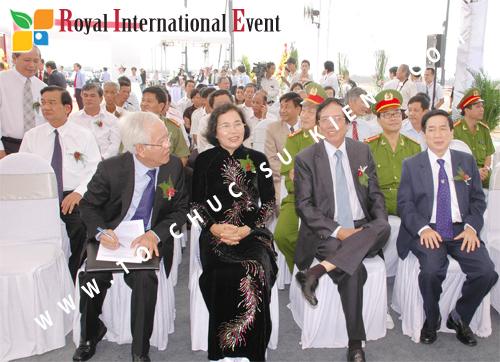 Tổ chức sự kiện Lễ Khởi Công Khu Công Nghiệp Đông Nam 30